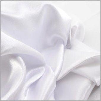 Слот сатен: каква тъкан, характеристики и приложение
