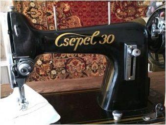 Стари шевни машини: сортове, марки, употреба