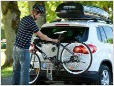 Багажник на задната врата на автомобила: Характеристики и селекция