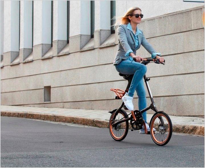 Преглед на велосипеда Strida