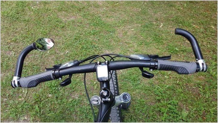 Рог върху волана на велосипед: характеристики и селекционни характеристики