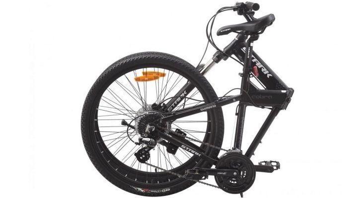 Сгъваеми планински велосипеди: сортове и съвети при избора