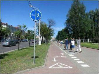 Всичко за пътния знак & # 171 + велосипедна пътека & # 187 +