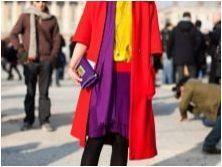 Стил & # 171 + цветен блок & # 187 + (цветен блок) в дрехи