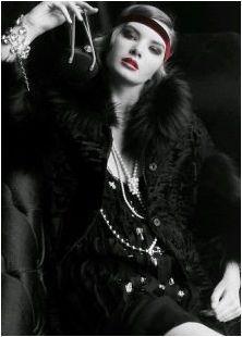 Женския образ в стила на Гетсби