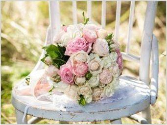 Булчински букет от рози: най-добри опции и комбинации