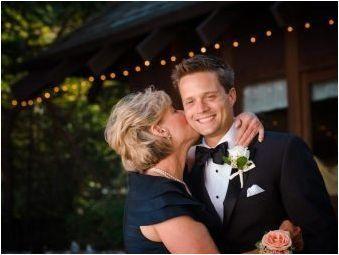 Думи на благодарност на сватбата за мама