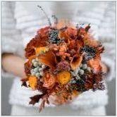 Есенно булчински букет: идеи за дизайн и тънкости