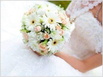 Какви цветя трябва да бъдат в букета на булката?