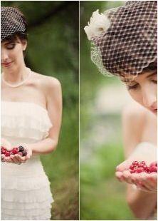 Опции за красиви сватбени прически на квадрат