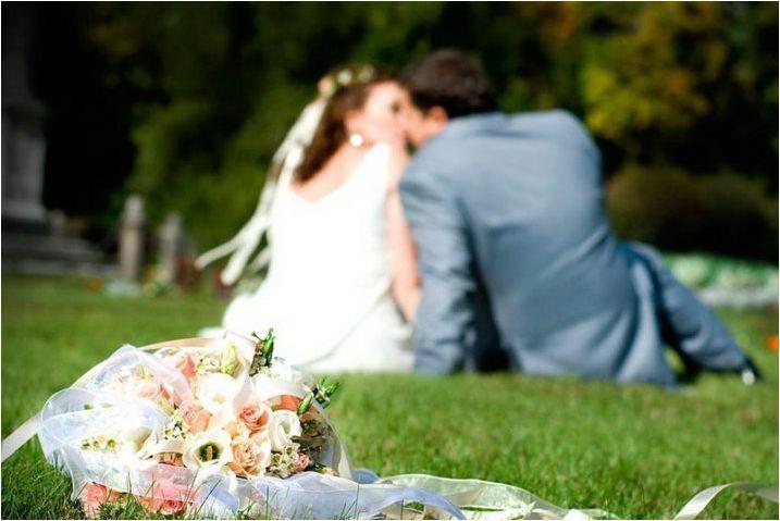 Сватбен букет от булката от Еустом