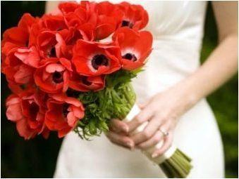 Сватбен букет от булки от диви цветя: разновидности и характеристики на избор