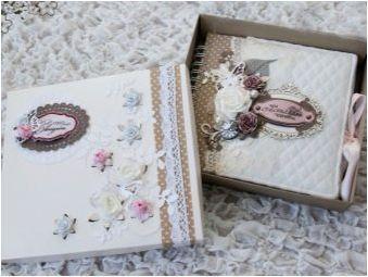 Сватбен фотоалбум: видове, декор и майстор клас