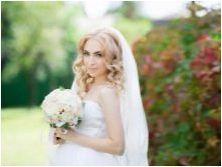 Сватбени прически с воали на средна коса: Какви са и как да ги направите?