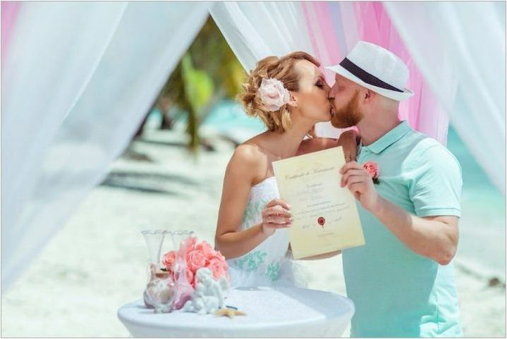 Сватбени сертификати: оригинални идеи