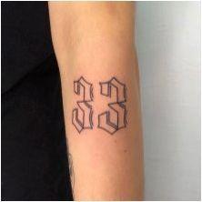 Всичко за татуировката под формата на числа
