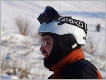 Сортове ски маски и техния избор
