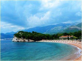 Свети Стефан в Черна гора: плаж, хотели и атракции