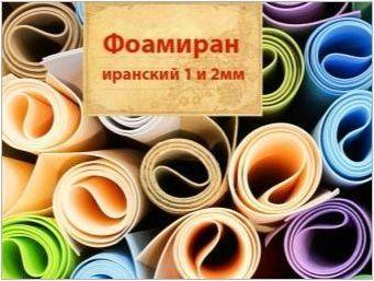 Правила за работа с фуамира и занаяти за начинаещи