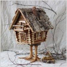 Delica & # 171 + къща & # 187 + от естествени материали