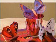 Изработване на занаяти & # 171 + Butterfly & # 187 +