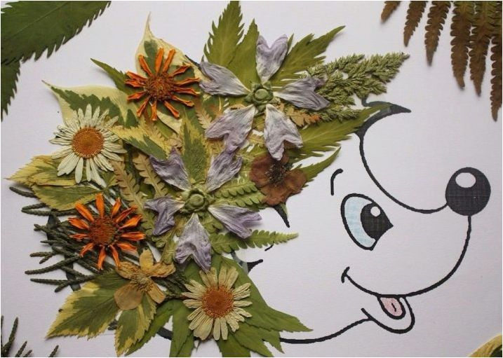Създаване на занаяти от цветя