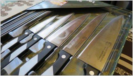 Борнер ножове: серия Описание