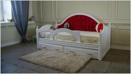 Детско тахтно легло с мек гръб: описание, видове, съвети за избор