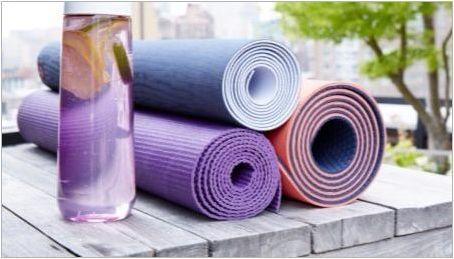 Фитнес постелки: разновидности и избор