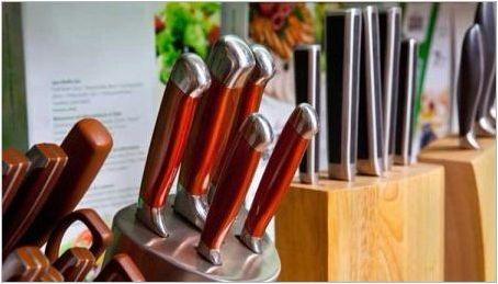 Характеристики и характеристики на по-високите ножове