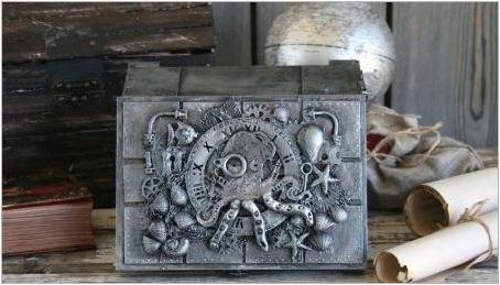 Идеи за създаване на занаяти в стила на Steampunk със собствените си ръце