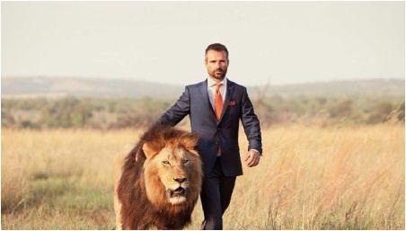 Избор на камък за мъж лъв
