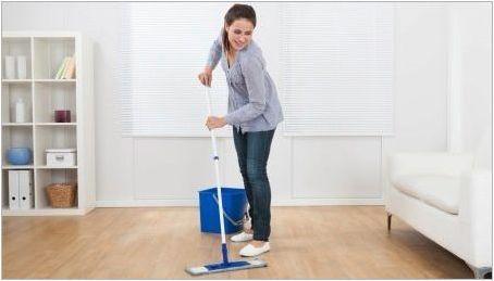 Как да измиеме етажите?