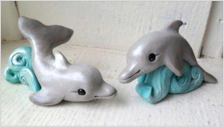 Как да направим делфин от пластилин?