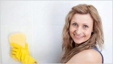 Как да се измие плесен в банята?
