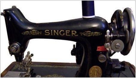 Как да се определи годината на шевната машина на певицата на серийния номер?