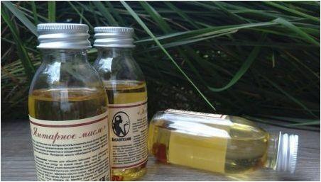 Кехлибарено масло: какви свойства има и как?