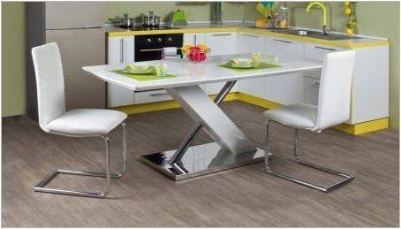 Кракове за кухненската маса: видове и функции