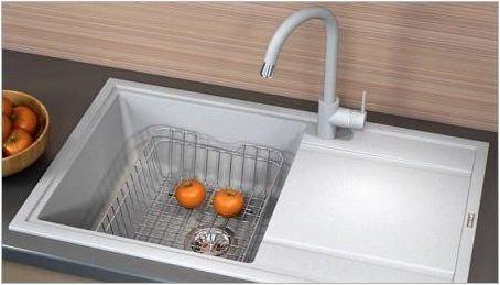 Кухнени мивки Флорентина: Характеристики, разновидности и избор