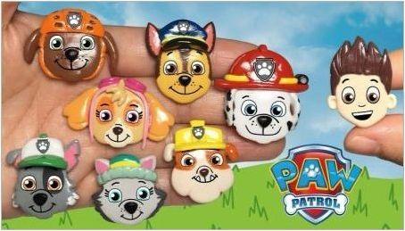 Маспийките героите от карикатурата & # 171 + Puppy Patrol & # 187 + пластилин