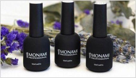Монами гел лакове: разнообразие от продукти и качество
