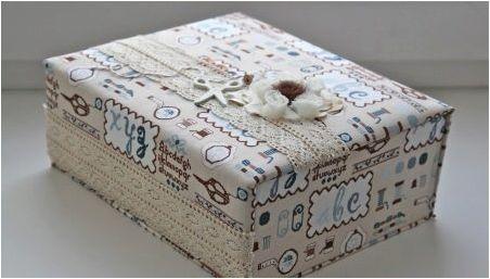 Начини за декориране на кутии