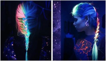 Neon коса боя: плюсове и минуси, правила за прилагане