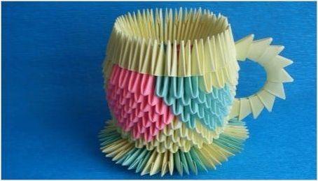 Оригами под формата на чаша