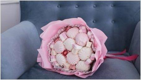 Осъществяване на букети от Marshmallow