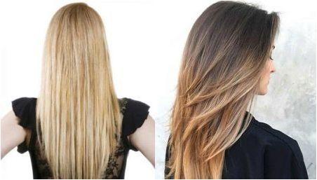 Подстригване стълба за дълга коса: Характеристики и разновидности
