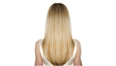 Прическа & # 171 + Fox Pail & # 187 + на средна коса