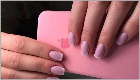 Розов франг на ноктите: гъвкавост и изтънченост