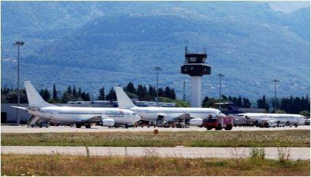 Списък на летищата в Черна гора
