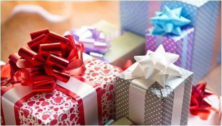 Списък на полезни подаръци